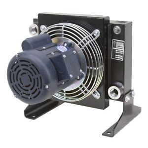 30 GPM AKG AR8-1 Oil Cooler w/ 115/230 Volt AC Fan 9-12676-8-1