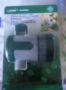 ORBIT WATER MECHANICAL TAP TIMER FOR GARDENS UP TO 30min. 94205
