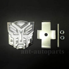 NEW 3D Transformers Autobot GRILL BADGE Metal Chrome for ALL CAR Front Emblem