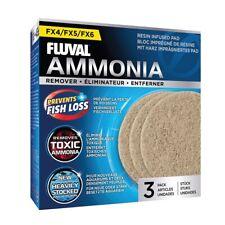 Fluval FX4 FX5 FX6 Ammonia Aquarium Filter Pads (3 Pack)