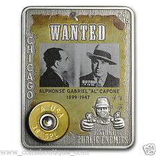 Al Capone 1oz silver coin embed 38 special American Eagle round