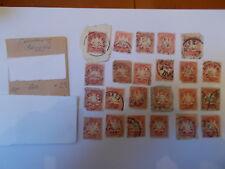 Germania/Baviera/Bayern francobolli. 1908 - 10Pf, 20Pf, 3Pf, 5Pf FRANCOBOLLI
