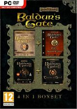 Brand New Sealed Baldurs Gate 4 in 1 Box Collection Compliation