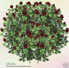 "36 Rose bush Silk Flower 22"" Artificial Plants Bud Wedding Party Decor Ball 385R"