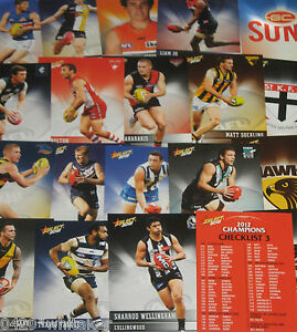 2012-2021 AFL Select & Teamcoach COMMON CARDS 2 for $1.00 see add for details