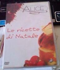 DVD LE RICETTE DI NATALE ALICE SITCOM EDITORE INCELLOPHANATO