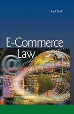 E-Commerce Law by Paul Todd (2015, Hardcover)