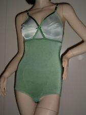 Corsetti, bustini e guêpiere da donna verde in poliammide