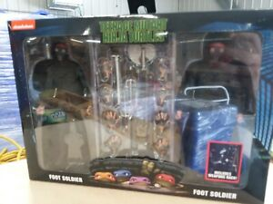 Neca Foot Soldiers and Weapons 2-Pack TMNT Movie Teenage Mutant Ninja Turtles