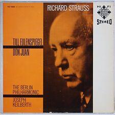 STRAUSS: Till Eulenspiegel Keilberth TELEFUNKEN Stereo TCS 18050 Vinyl LP