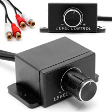 Universal Car Audio Amplifier Bass RCA Level Remote Volume Control Knob LC-1 FR