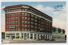 The O Henry Hotel Greensboro North Carolina linen postcard