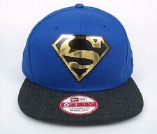 New Era Men's DC Comics Superman Gold Reflect Shield 9FIFTY Snapback Hat - M/L