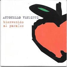 "ANTONELLO VENDITTI - RARO CDs SPAGNA "" BIENVENIDO AL PARAISO """