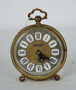 Blessing - Vintage 1960s Brass alarm clock - Working condition