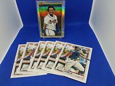 Ronald Acuna Jr 2020 Bowman Retro 1990 + 6 Paper Lot Atlanta Braves 🔥