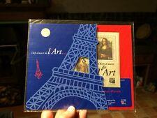 Bloc Timbres feuillet 23 Chefs d'Oeuvre de l'art pochette bleue sous blister