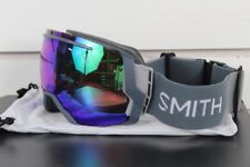 2018 Smith I/O 7 Ski Snow Goggles IO/7 Thunder Split ChromaPop Everyday Green