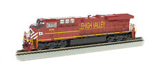 LEHIGH VALLEY RAILROAD HO GE ES44AC BY BACHMANN TRAIN WITH DCC & SOUND-SAVE $$