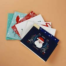 Multi Style Christmas Greeting Cards Birthday Valentine Friend Postcard Gifts HZ