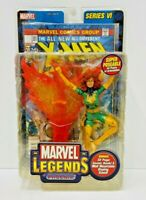 Toy Biz Marvel Legends Phoenix Action Figure With Comic Book & Stand Series 6