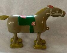 Vintage 1961 Louis Marx Plastic Race Horse Walker