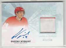 2011 11-12 SP Authentic Limited Patches #221 Gustav Nyquist Autograph 72/100