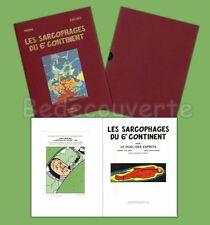 Tirage de Luxe Juillard Blake et Mortimer Les Sarcophages du 6eme Continent 02