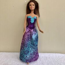 Barbie Fairytale Princess Teresa Deluxe in Evening Gown Mattel 1999 Doll Figure