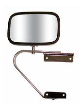 """Universal 5.5""""x8.5"""" Side View Mirror for Truck/Van, Door Mount, Stainless Steel"""
