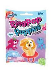 (6) 2018 Topps Ring Pop Puppies Ring & Toy Figure New Blind Bag Pack LOT FS