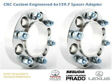4WD Wheel Spacer Adapters 25 mm 6x139.7, 6x5.5'' Land Cruiser Custom Made 2PCS
