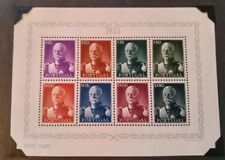 Vintage Portugal 1945 President Carmona Set Postage Stamps