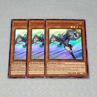 3x Yugioh Elemental HERO Stratos BLHR Ultra Rare Card Playset