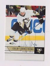 06/07 Upper Deck Colby Armstrong Pittsburgh Penguins Autographed Hockey Card