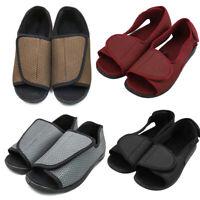 Lady Women Extra Wide Diabetic Slippers Open Toe Sandal Shoes for Edema Elderly