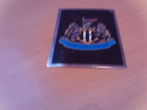 signed newcastle united match attax badge of ex player remie streete