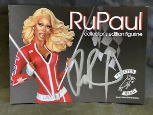 RuPaul Drag Race with Flags Exclusive Tweeterhead Autographed Card