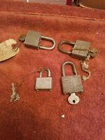 Vintage master padlock Lot