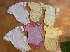 6 Stück Baby Bodys Gr.62/68 Kurzarm