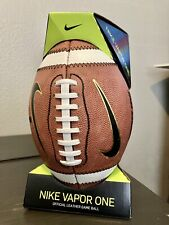 New listing New! Nike Vapor One Official High School Football Game Ball Size 9 NFHS FT0311