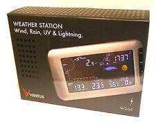 VENTUS W266 Inalámbrico Estación Meteorológica con sensor de detección de rayos UV &