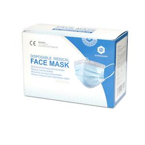 FFP2 Masken MNS-Maske Mundschutz Einweg 3-lagig Hygienemaske Einwegmaske CE