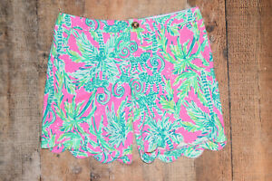 NEW Lilly Pulitzer Darci Knit Shorts Size 0 NWOT
