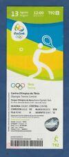 Orig.Ticket  Olympische Spiele RIO DE JANEIRO 2016 / TENNIS Frauen Einzel Finale