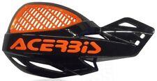 ACERBIS UNIKO VENTED BLACK / ORANGE HANDGUARDS KTM SXF250 SXF350 SXF450