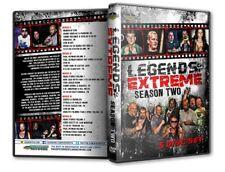 Legends of Extreme Season 2 - 5 Disc Set DVD ECW Sandman New Jack Francine