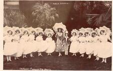 Tiller's Forget Me Not's Adela Crispin Theatre unused RP pc J P Bamber Blackpool