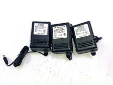 Lot of 3 Stancor STA-4824AT Power Adapter Cord and Motorola 2580600E01 Adapter