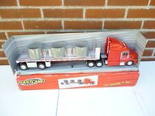 Fastlane Truck Peterbilt T 387 With Long Trailer Pipes 1:32 New In OVP